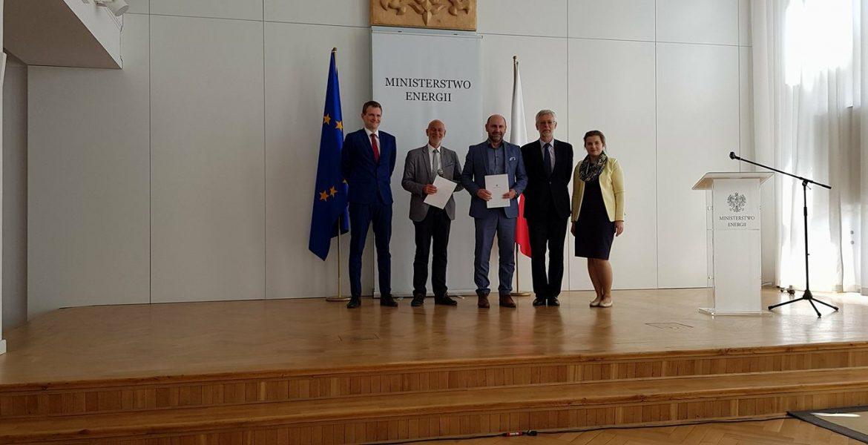 Certyfikat Ministerstwa Energii dla Klastra ZPT